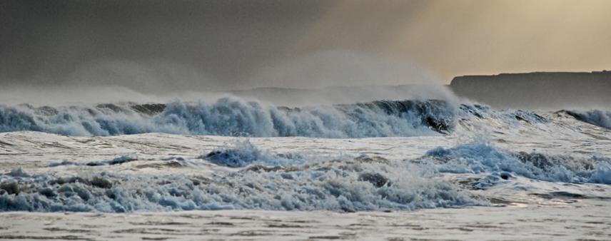 El sur de Inglaterra, devastado por la marea