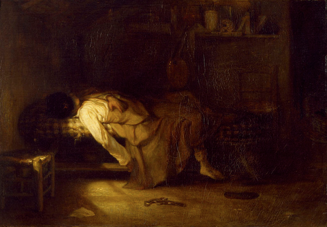 Alexandre Gabriel Decamps, The suicide