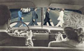 """Mind the Beatles, darling!"" -Sammy Slabbinck"