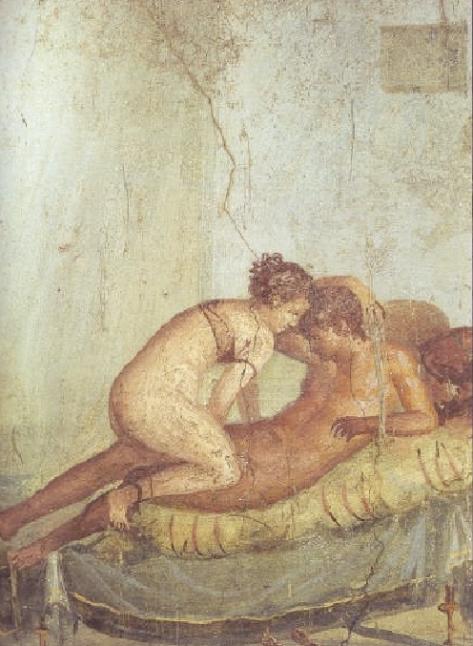 En los muros de Pompeya...