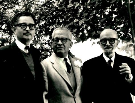 Alí Chumacero, Max Aub y León Felipe