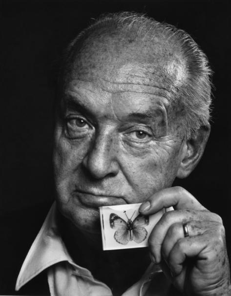 Nabokov fotografiado por Yousuf Karsh