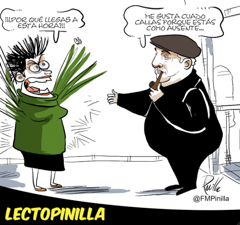 Cartón: Fernando Pinilla