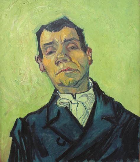 Pintura: Retrato de un hombre, VIncent Van Gogh