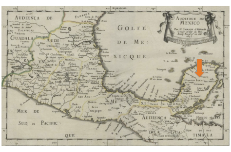 Mapa: Nicolás Sanso (1657)