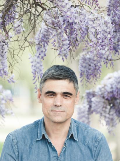 El autor (foto: Sebastián Utreras)