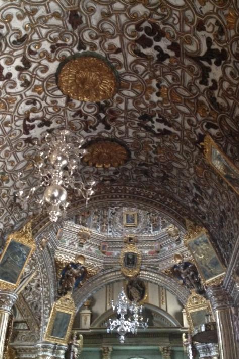 Cúpula barroca de la iglesia de Tlacolula