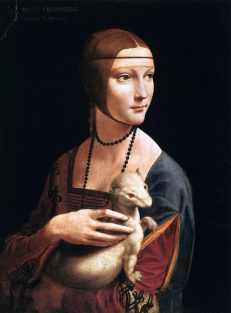 La dama del armiño, de Leonardo