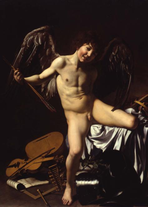 El Amor victorioso, de Caravaggio