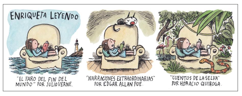 Cartones: Liniers www.porliniers.com