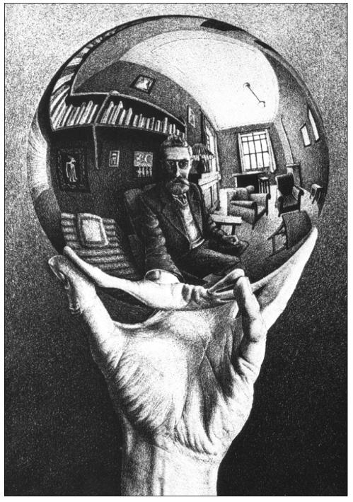 Dibujo: M.C. Escher