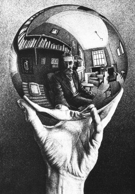 Dibujo: M. C. Escher