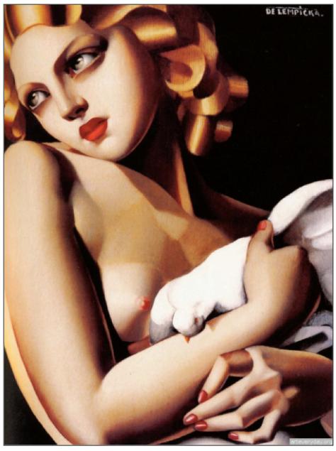 Pintura: Tamara de Lempicka