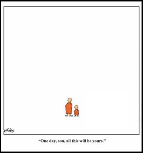 Cartón tomado de la página de Facebook de Buddhist Humor