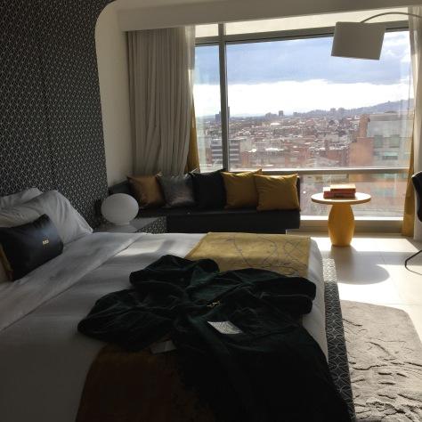 Mi cuarto en el W Bogotá