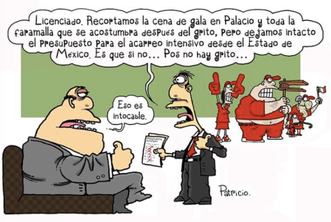 Cartón: @Patriciomonero