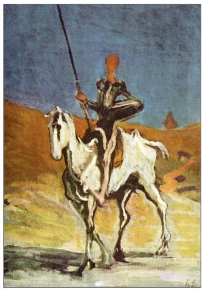 Pintura: Honoré Daumier
