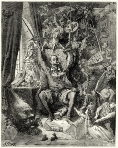 Don Quijote, de Gustav Doré