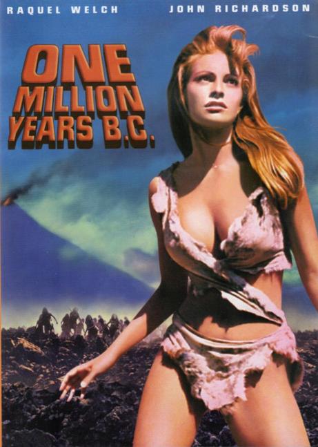 Raquel Welch, cartel de la película Hace un millón de años (1966)