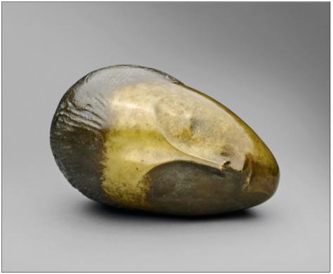 Escultura: La musa dormida, de Constantin Brancusi (sí, Borgeano querido, otra vez Brancusi)