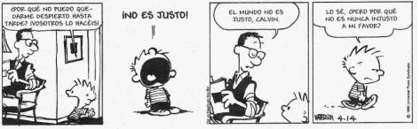 Cartón: Calvin & Hobbes