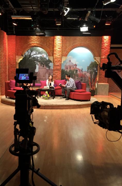 En el Canal 27 de Televisión de Morelia