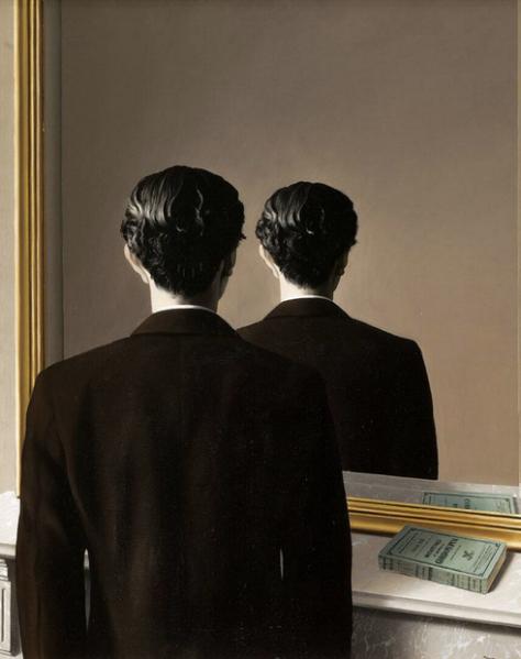 """Imagen: René Magritte, """"La Reproduction Interdite"""", 1937"""