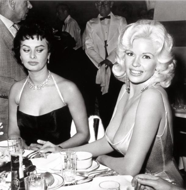 La Loren y la Mansfield (y lo que la primera pensaba).