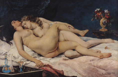 Gustave Courbet, Las durmientes, 1866